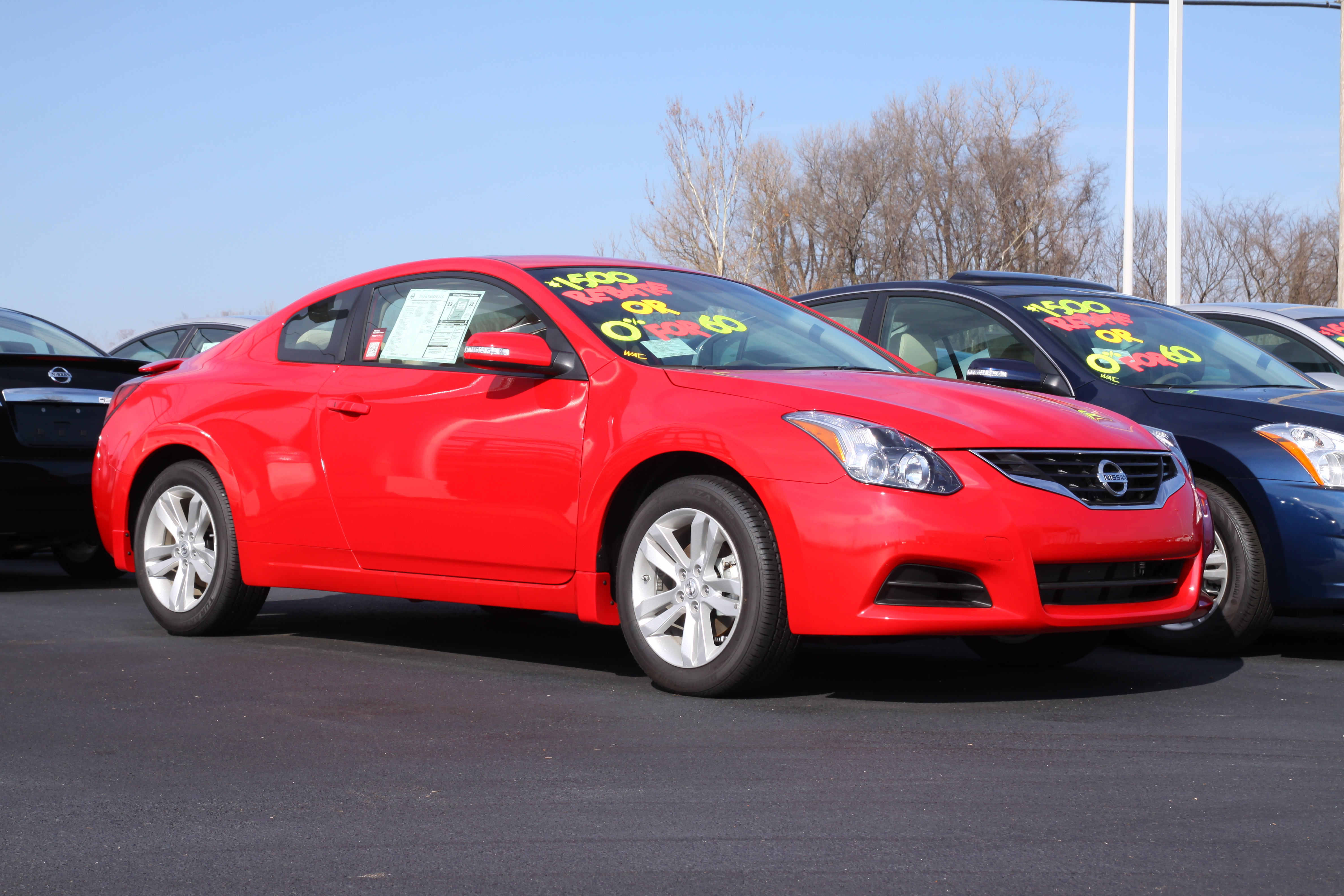 Wonderful 2012 Nissan Altima 2.5S Coupe In Red Alertu201d]. Polldaddy ...